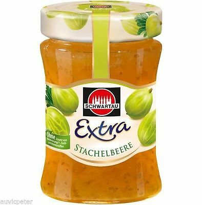 SCHWARTAU GOOSEBERRY PRESERVE 340g, most popular jam in Germany