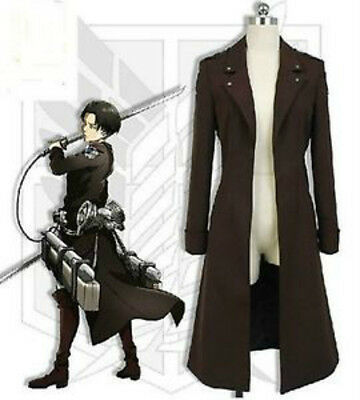 NEW Attack on Titan Shingeki no Kyojin Scouting Legion Cosplay Dust Coat Jakcet