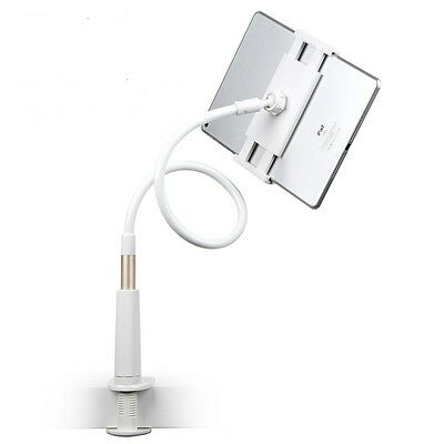 Soporte Universal Flexible Y Giratorio 360º Para Tablet Ipad 2 3 4 5 Blanco