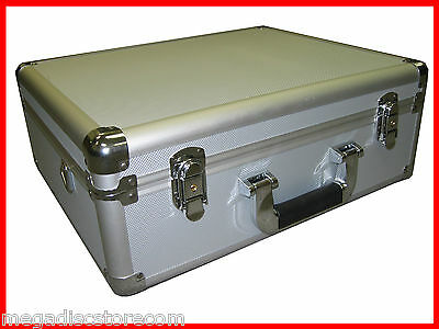 Multi Purpose Aluminum Camera Carry Case Tool and Equipment Silver CANADA n USA