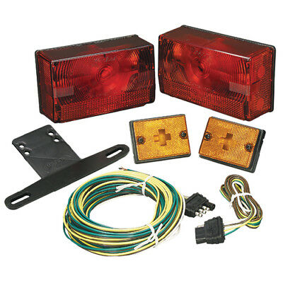 Wesbar Boat/Utility Trailer Submersible Over 80 Low Profile Tail Light Kit