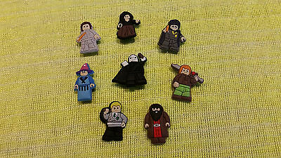 LEGO HARRY POTTER shoe charms/cake toppers!! Lot of 8!! FAST USA SHIPPING!