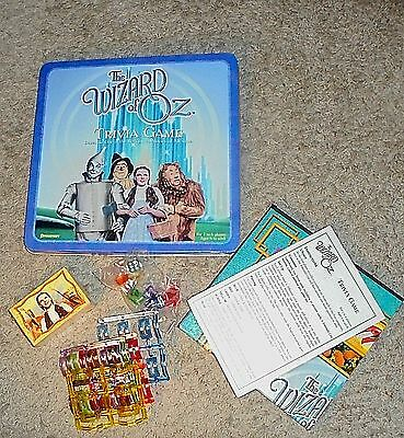The Wizard Of Oz Trivia Game Collectable Tin New