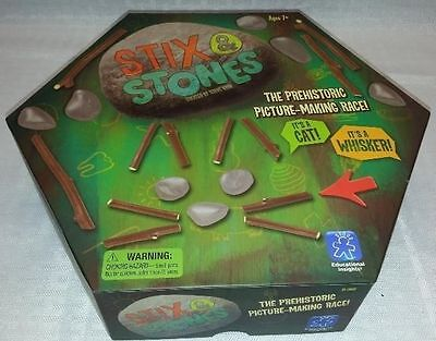 Learning Resources Educational game Insights Stix and Stones Game Kids New Gift