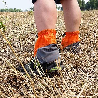 Silicon Coated Nylon Waterproof Ultralight Gaiters Leg Protection Guard DU L3R2