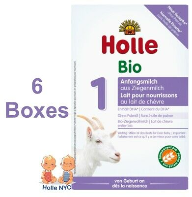 Holle Goat Milk Stage 1 Organic Formula 6 Boxes 400g Free Shipping