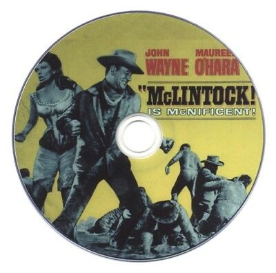 McLintock! (1963) John Wayne Comedy, Romance, Western Movie / Film on DVD