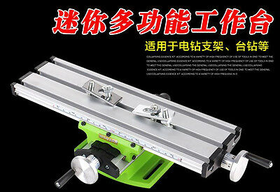 Multifunction Working Table Milling Machine Worktable For Mini Bench Drill