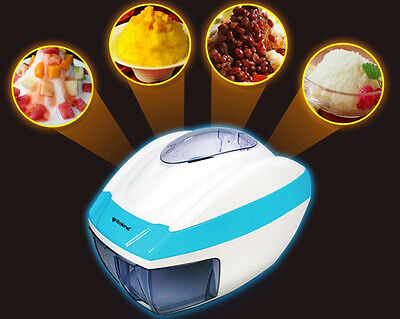 Electric Ice Crusher automatic industrial Ice Shaver machine ice slush NEW