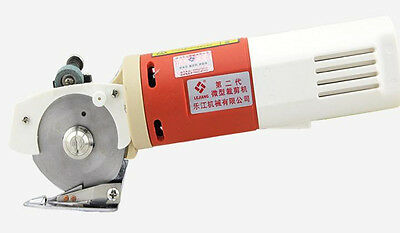 65mm 110V 220V Blade Electric Round Knife Cloth Cutter Fabric Cutting Machine