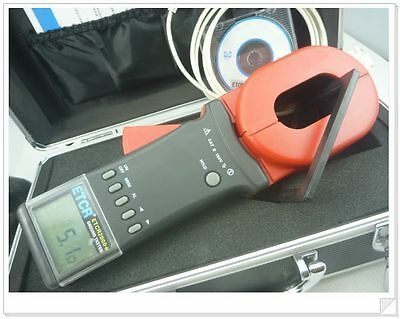 ETCR2000+ Clamp On Ground Earth Resistance Tester RS232