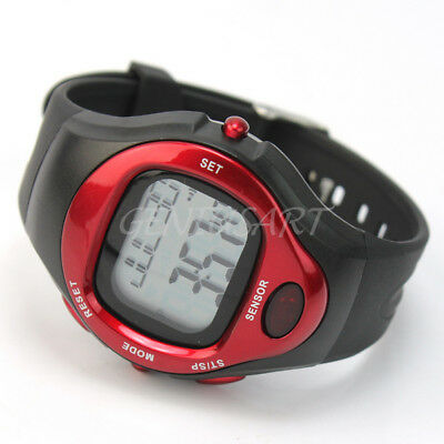Fitness Pulse Heart Rate Monitor Sport Watch Running Exercise Calorie Counter