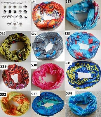 Bike Cycling Bicycle Outdoor Sport Hiking Head Scarf Headband Bandana coloured