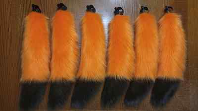 6pc ANTHROWEAR Halloween Wholesale Lot Furry WOLF FOX DOG TAIL Costume Zootopia