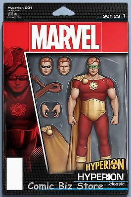 Hyperion #1 (2016) 1St Printing Christopher Action Figure Variant Cover