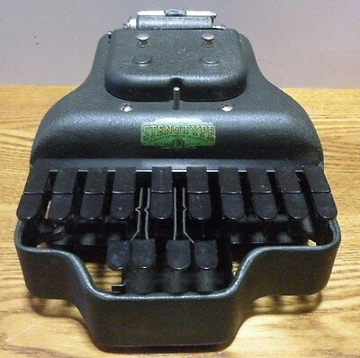 1916 antique Stenotype La Salle Extension University Master Model Four with case