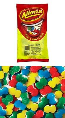 Allens Racing Car 1.3kg Bag Allen's Cars Lollies Candy Buffet Sweets Favors New