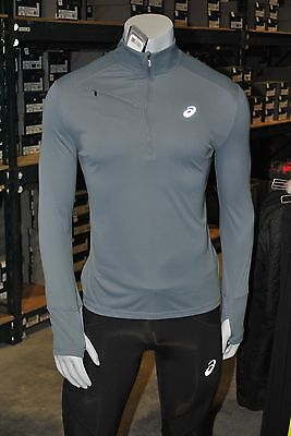 ASICS Men's Favorite 1/2 Zip Running Shirt - 3 COLORS - HALF PRICE - FREE SHIP!