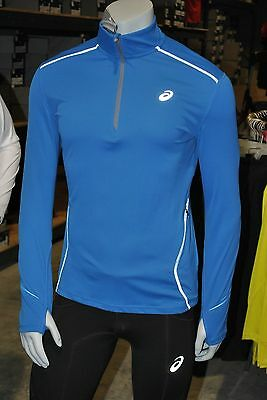 ASICS Men's  LITE SHOW  Favorite 1/2 Zip Running Shirt - HALF PRICE - FREE SHIP!