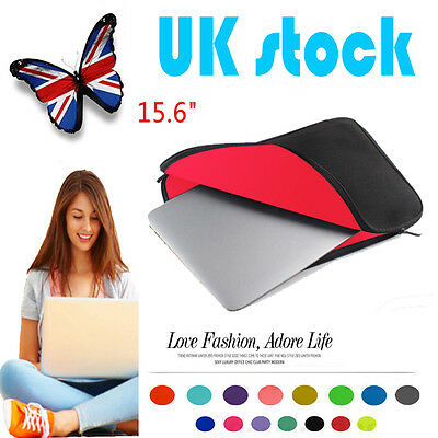 15.6 INCH Laptop Sleeve Carry Bag Case Cover For Apple Sony Acer HP Toshiba DELL
