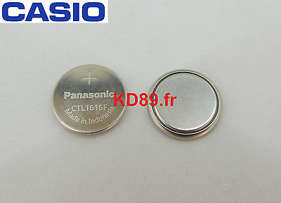 Original Casio Panasonic Capacitor solar Battery rechargeable Lithium CTL1616