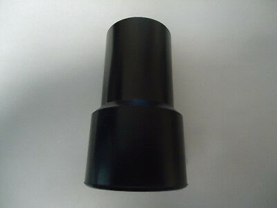 "1-1/2"" Black Threaded Vacuum Hose Cuff D3150-150-2"