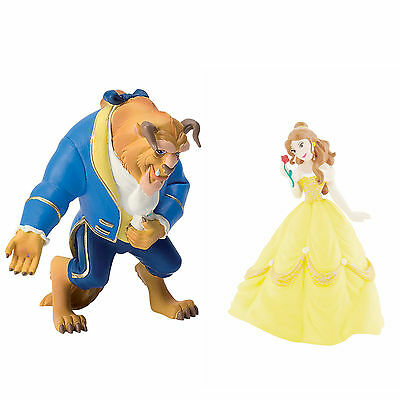 BULLYLAND DISNEY BEAUTY AND THE BEAST FIGURES - Beauty and the Beast