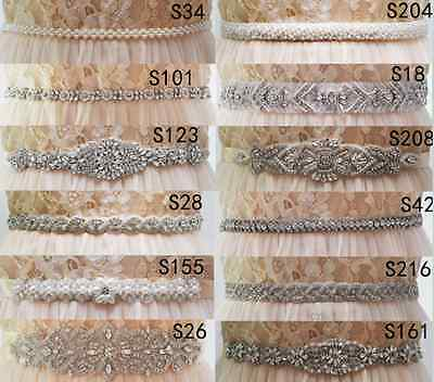 Rhinestones Pearls Wedding Belts,Bridal Belts sashes,Bridal Wedding sashes Belt