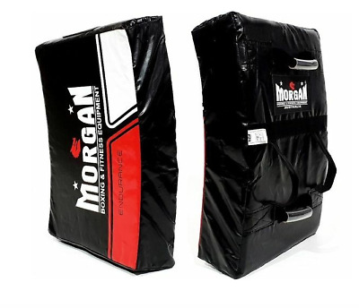 Morgan Endurance Pro-Xl Hit & Strike Shield Bump Pad Kick Boxing Rugby Mma New