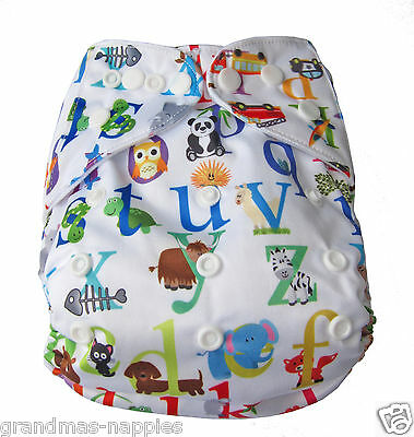 NEW MODERN CLOTH NAPPIES MCN DIAPERS POTTY REUSABLE BOATING SHELL