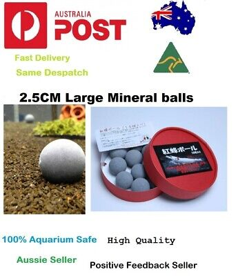 Benibachi Bee Balls Enhancement Supplement Mineral Balls For Crystal Red Shrimp