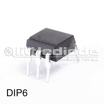 4N45 Opto Optocoupler Case DIP6 Make Avago