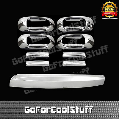FOR TOYOTA 05-10 SIENNA MINI VAN 4DRS HANDLE W//O PSKH+2PC MIRROR CHROME COVERS
