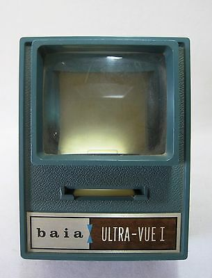Vintage Baia Ultra-Vue I Green Bakelite Slide Viewer