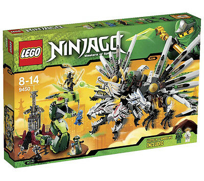 LEGO Ninjago Epic Dragon Battle #9450 Brand New & No Longer Available in Stores