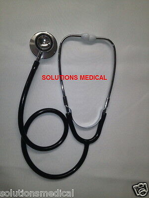 Stethoscope Medical Series Dual Head For Adult Black Boxed