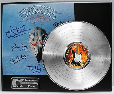 The Eagles - Reproduction Signature Platinum LP Limited Edition - USA Ships Free