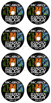 Isaac Asimov - The Foundation Trilogy (8 x Audio CD's) (Audiobook / Audio Book)