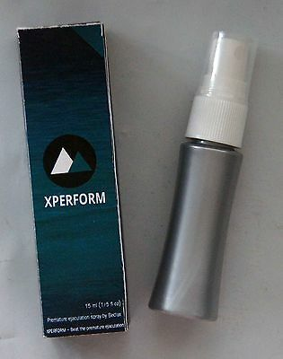 Xperform Premature Ejaculation Delay Spray for Men Longer Sex & Prolong Penis