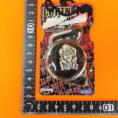 UT Banpresto Lupin The 3rd Hands-free microphone Fujiko Silver ver. Japan anime