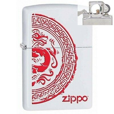 Zippo 28855 seal with dragon Lighter with PIPE INSERT PL