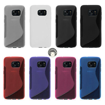 Rubber Soft S Line Gel TPU Silicone Case Skin Cover For Samsung Galaxy S7 G930