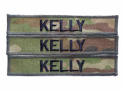 Embroidered Name Tags, Military, Army - AMCU