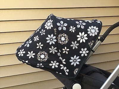~Flowers~ Replacement Canopy  for Bugaboo CAMELEON /Cameleon3.