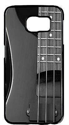 Guitar Bass Rock Strings Design Back Shell Case Cover For Samsung Galaxy Models