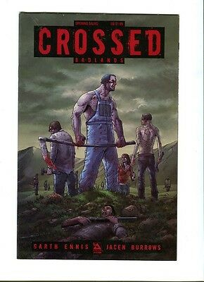Crossed Badlands Opening Salvo . Avatar 2011 - VF / NM