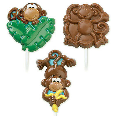 **WILTON**     Monkey Lollipop Molds!