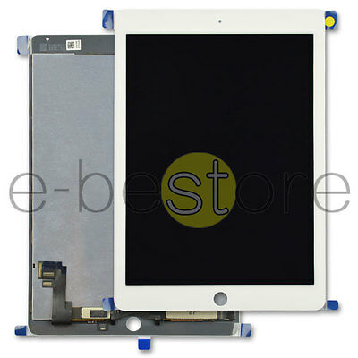 For iPad 6 Air 2 6th Gen White Replacement LCD Display & Digitizer Touch Screen