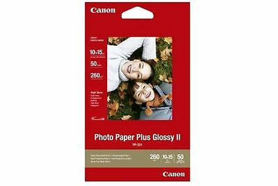 Canon Photo Paper Plus Glossy II PP-201 6x4 10x15cm 265 gsm 50 sheets 2311B003