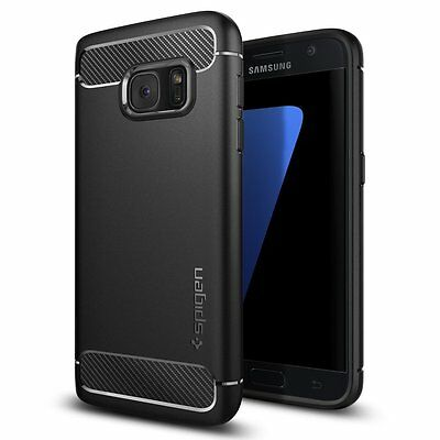 Spigen [Rugged Armor] Resilient [Black] case for Samsung Galaxy S7